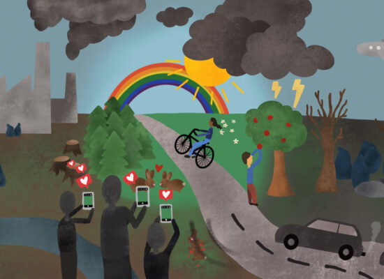 Nachhaltigkeit auf Instagram: Man muss da hinschauen, wo es weh tut